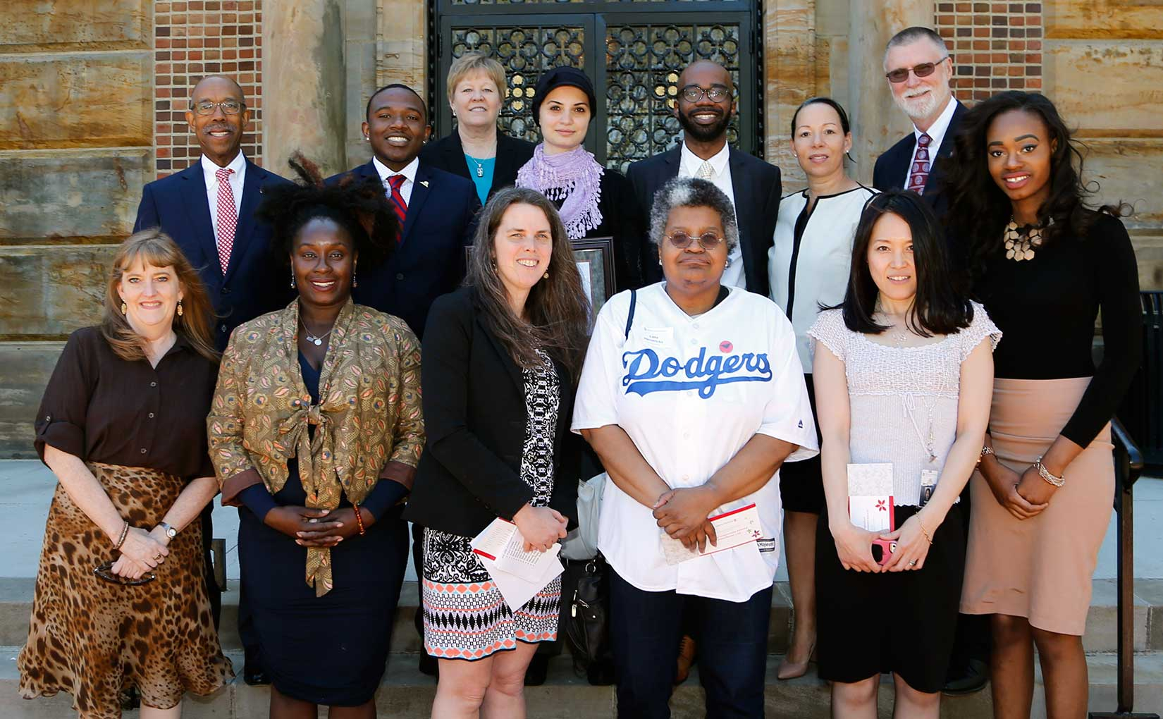 2017 Distinguished Diversity Enhancement Award winners