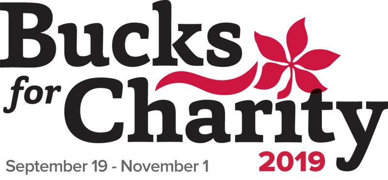 Bucks for Charity 2019 logo