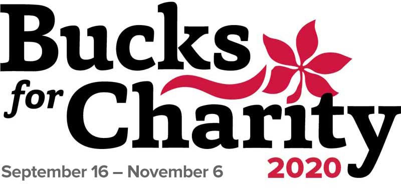Bucks for Charity 2020 logo