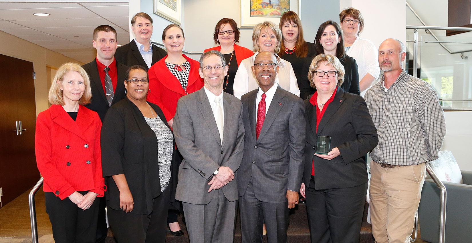 2016 Distinguished Staff Award winners