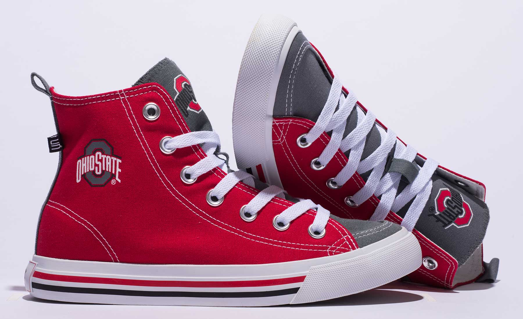 Ohio State-branded SKICKS sneakers