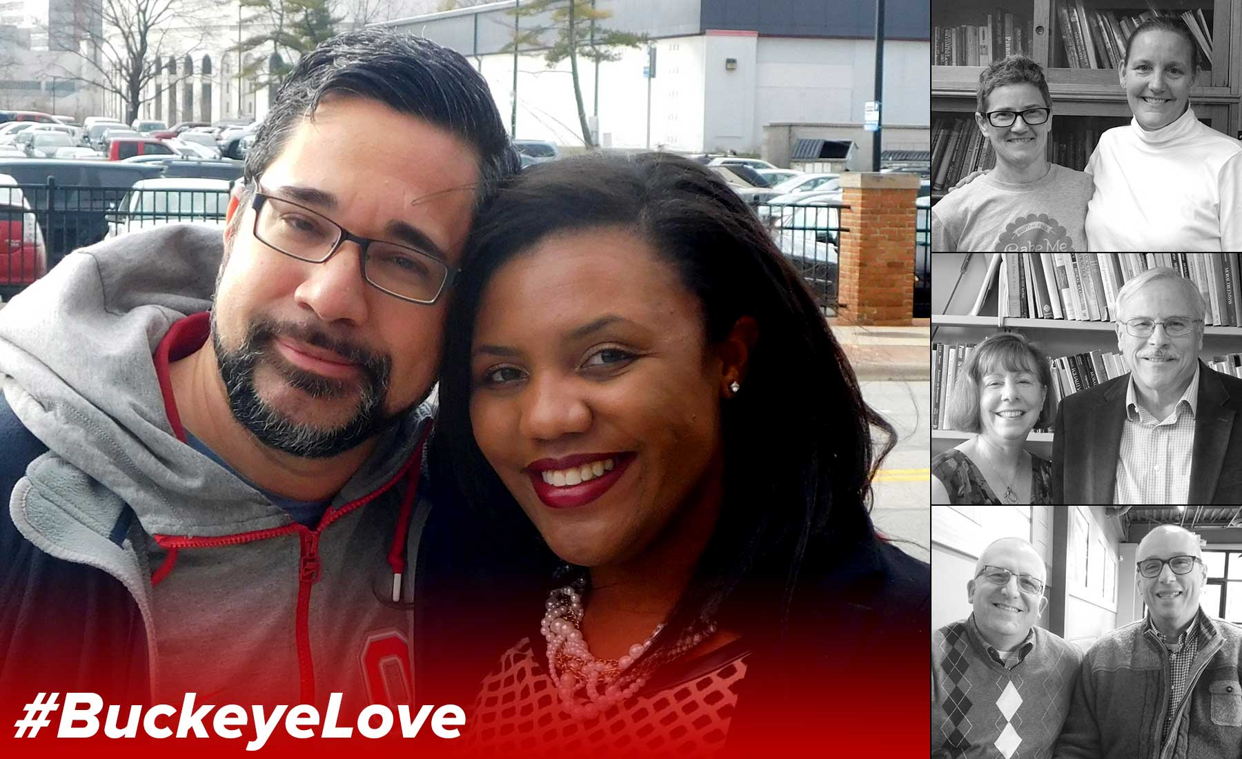 Ramsey and Shantay Piazza, the featured couple in this issue of the BuckeyeLove series