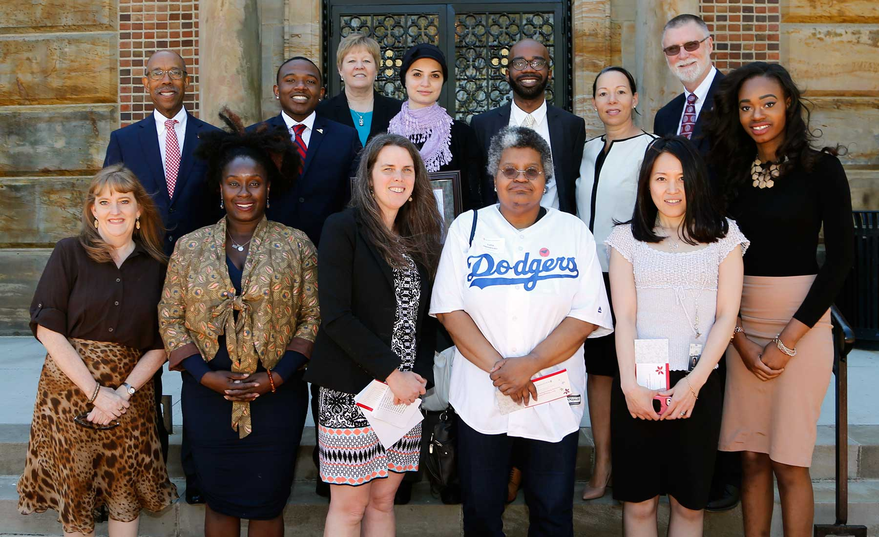 2017 Distinguished Diversity Enhancement Award recipients