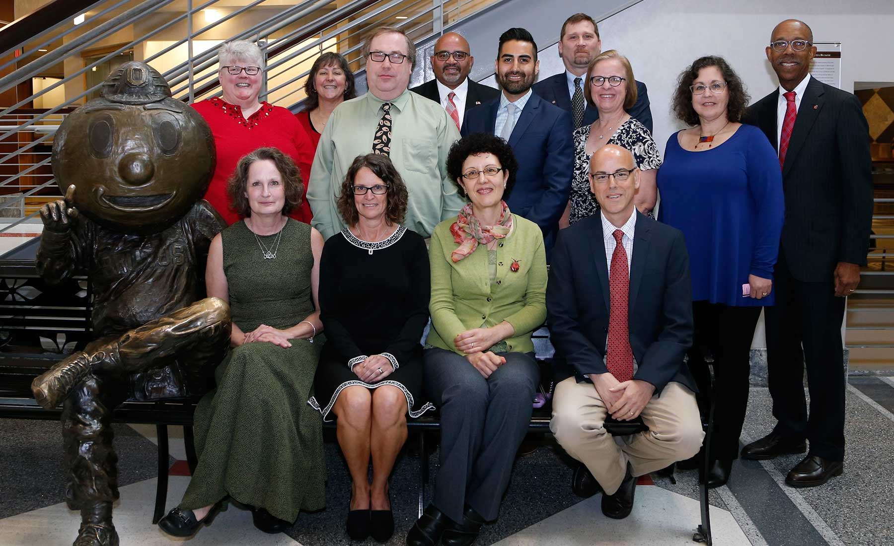 2017 Distinguished Staff Award winners