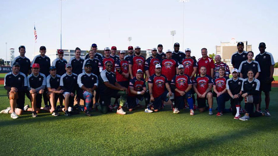"The Wounded Warrior Amputee Softball Team (WWAST) traveled to Columbus to play in a tournament with The Ohio State University Varsity ""O"" Alumni Society."