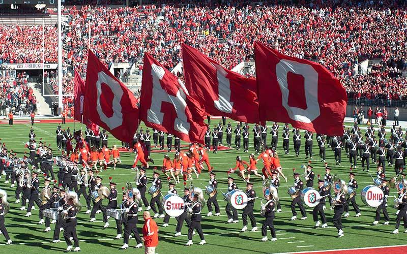 O-H-I-O flags
